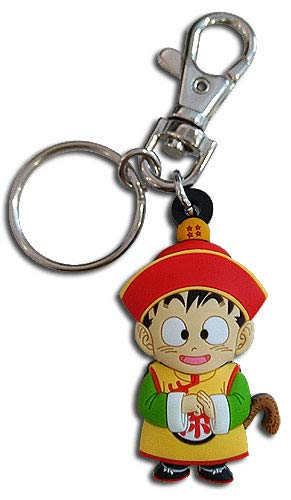 Great Eastern Entertainment Dragon Ball Z - SD Gohan PVC Keychain, Multicolor