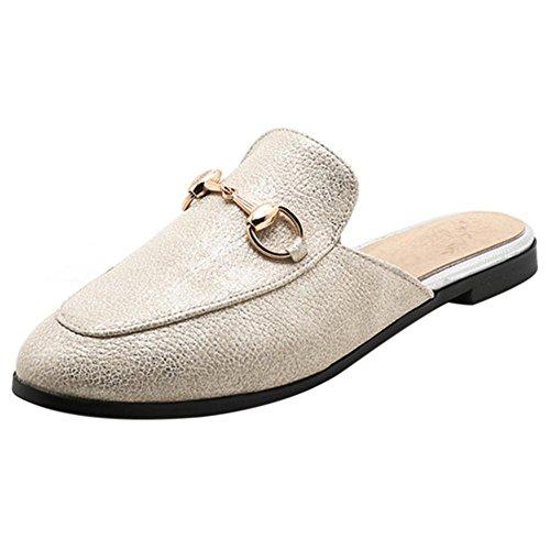 KemeKiss Women Fashion Mules Closed Toe Mules Fashion B07B4VWMMJ Shoes 561988