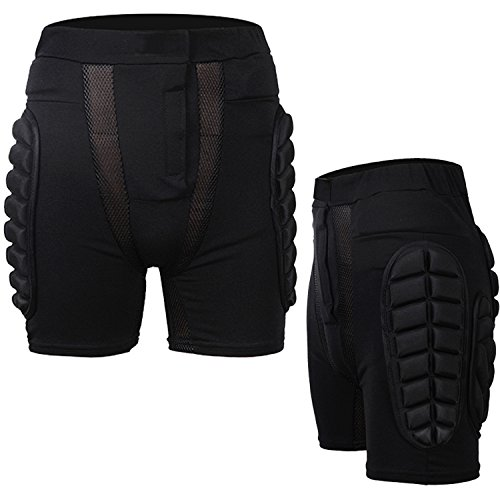 Guide 3D Hip Padded Shorts EVA Protective Pants for Outdoor Sports Skiiing Skating Snowboard Skateboarding Cycling Protection