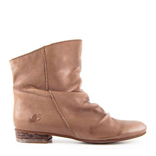 Felmini Faro 8755 - Botas de Piel para mujer marrón marrón