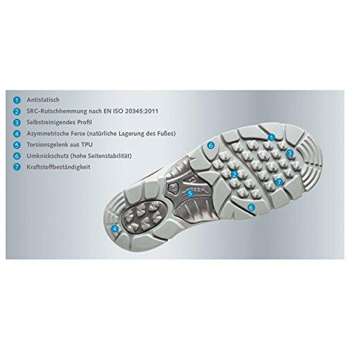 Abeba 32292-40 Anatom Chaussures de sécurité bas ESD Taille 40 Gris/Orange
