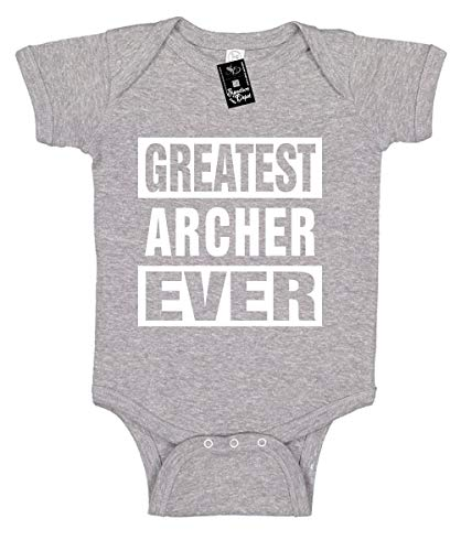Signature Depot Infant Funny Baby Onesie Unisex T-Shirt Size 6 (Greatest Archer Ever)