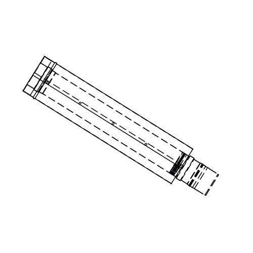 - Rheem RTG20151E-1 Adjustable Vent Length Gas Venting