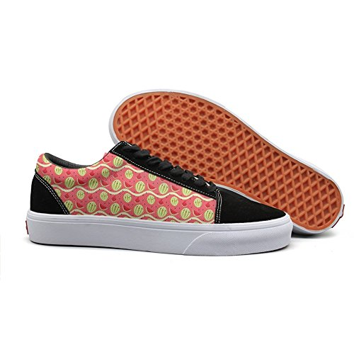 cool Canvas shoes for women I CARRIED A WATERMELON casual shoes by HASIDHDNAC