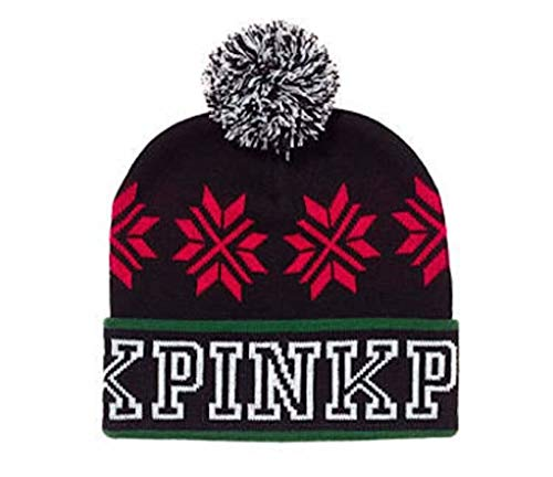 nk Knit Beanie Black/Red ()