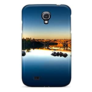 Galaxy High Quality Tpu Case/ Bridge Over A River Nature QrPQF17942MdOGv Case Cover For Galaxy S4