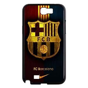 FC Barcelona Team Logo Samsung Galaxy N2 7100 Cell Phone Case Black DIY GIFT pp001_8974872