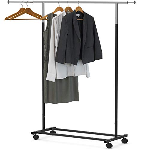 (Simple Houseware Standard Rod Garment Rack)