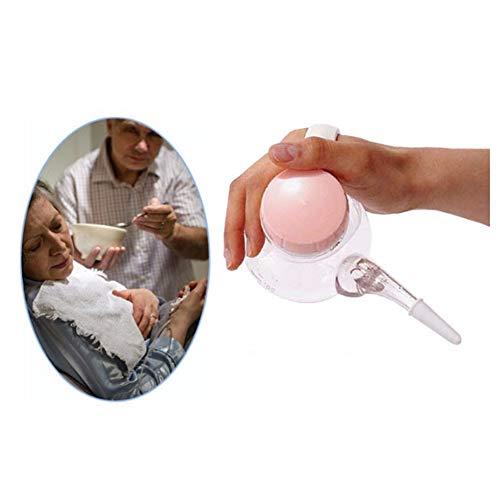 WLIXZ Alimentador materno para Ancianos, Alimentador de Agua para Pacientes de Cama, Taza de Alimentos líquidos, Control de...