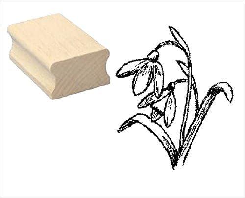 Stempel SCHNEEGL/ÖCKCHEN Motivstempel aus Buchenholz