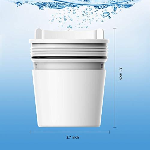 BELVITA Faucet Filter Culligan Culligan System White Finish -3