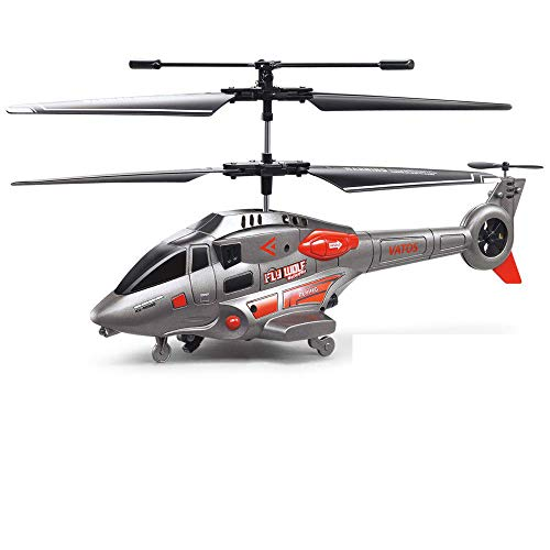 Remote Control Helicopter with Gyro for Kids, GoStock RC Helicopters for Adults with Gyro and LED Light 3.5 Channel