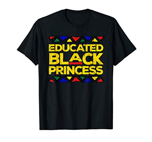 Educated Black Princess Pride Panthers Gift T-Shirt