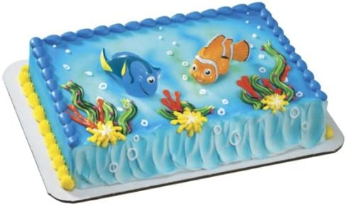 Fabulous Amazon Com Finding Nemo Squirters Nemo Dory Cake Toppers By Funny Birthday Cards Online Elaedamsfinfo