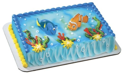 Amazoncom Finding Nemo Squirters Nemo Dory Cake Toppers by