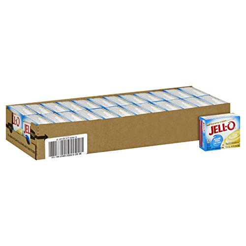 (Jell-O Sugar-Free Instant Pudding & Pie Filling, Banana Cream, 0.9-Ounce Boxes (Pack of 24))