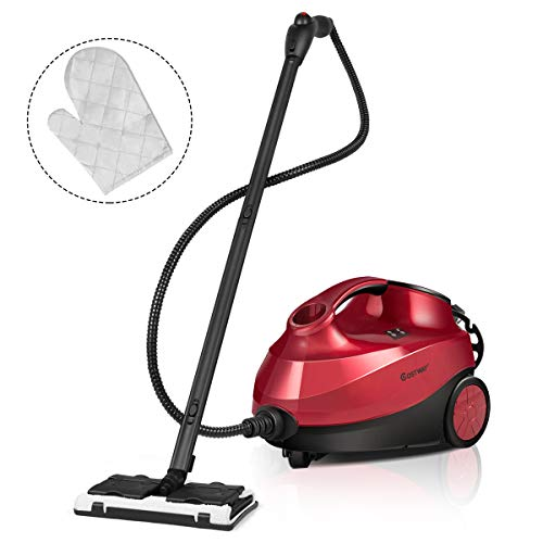 Discover Bargain COSTWAY 2000W Multipurpose Steam Cleaner with 19 Accessories, Household Steamer w/ ...