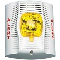 SYSTEM SENSOR SPSWALERT wall speaker strobe in white with alert