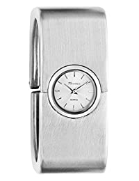 Marciano Women's | Large Silver Squared Bangle Watch | HA0252