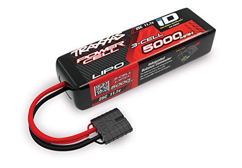 (Traxxas 2832X 11.1V 5000mAh 3-Cell LiPo Battery, Short)