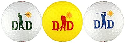 Swinging Dad w/ Motion Series Golf Ball Gift Set