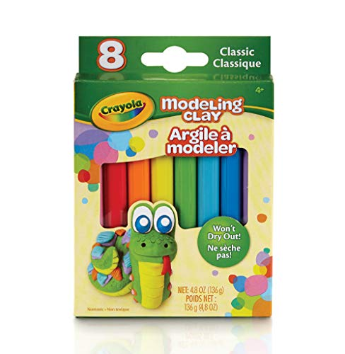 Crayola Modeling Clay 48 Ounce Pack Set of 8 Assorted Classi