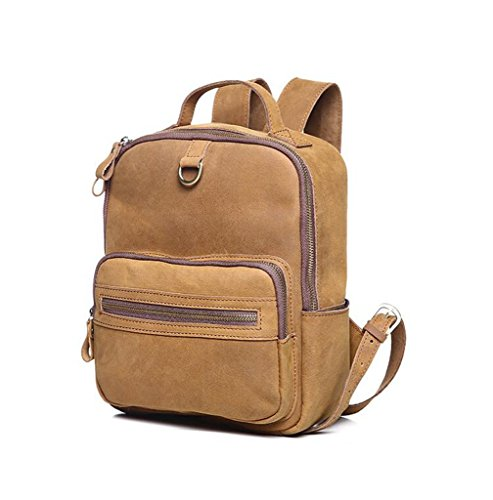 y bolsos Gran Hecho Mano de Ideal RFID hombro 1 Bloqueo Cuero Genuino trabajo Genuina para a Sucastle Mujer 2 viaje Capacidad x4TgwqPY5