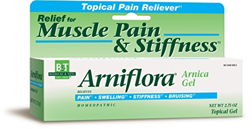 Boericke & Tafel Arniflora Arnica Natural Topical Pain Reliever Gel, Maximum Strength 2.75oz