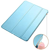 iPad Mini 4 Case[Corner Protection]-Dyasge Ventilated Stand Cover with Soft TPU Bumper for Apple iPad Mini 4(2015 Edition ONLY) Tablet,Sky Blue