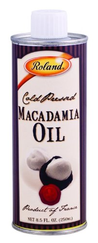 Roland Virgin Macadamia Oil, 8.5-Ounce Can (Pack of 2)