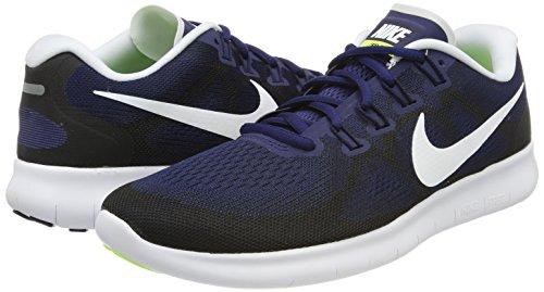 black Blue binary 2017 Nike Blu Rn volt Free white Uomo Scarpe Running xOBSOpwzq