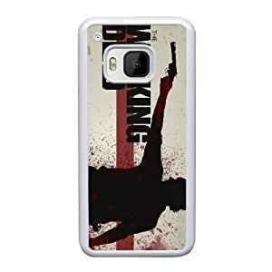 HTC One M9 Cell Phone Case White The Walking Dead DY7689325