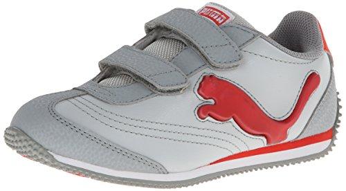 escent V Sneaker , Gray Violet/Limestone Gray/Grenadine, 4 M US Toddler ()