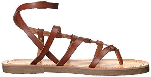 Madden Girl Women's Laando Gladiator Sandal Cognac Paris nuOBoNYslT