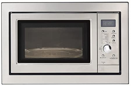 23L Built In Microwave Oven - Stainless Steel