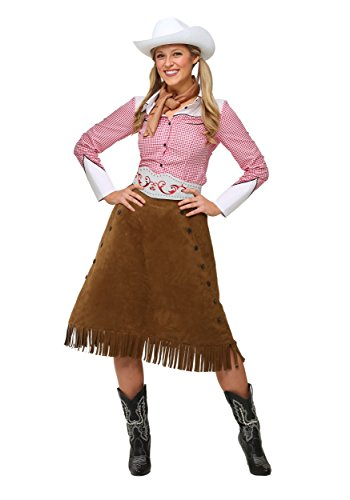 Plus Size Rodeo Cowgirl Costume 4X -