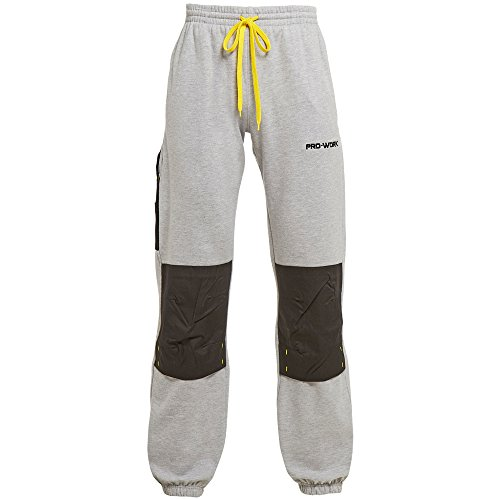 Mens TUFFSTUFF Comfort Work Pants Joggers with Knee Pad Pockets Jogging Bottoms