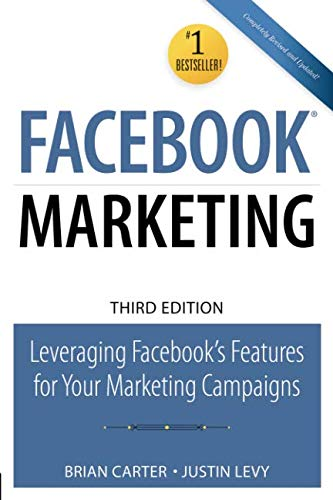 The Easy, Step-by-Step Guide to Facebook Marketing—100% Updated for Facebook's Newest Features & Best Practices   Your best customers and prospects are on Facebook: more than 800,000,000 of them. Your business needs to be there, too: not just w...