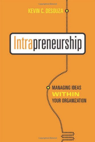 Intrapreneurship Managing Organization Rotman UTP Publishing product image
