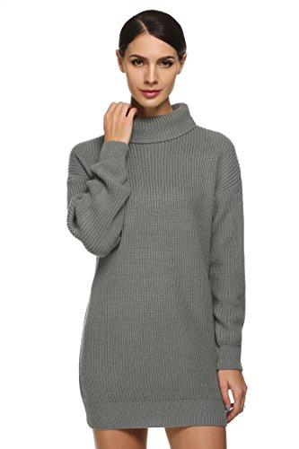 ANGVNS Womens Chunky Oversize Sweater