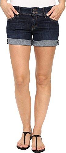 HUDSON Women's Croxley Mid Thigh Shorts in Elemental Elemental 33 (Hudson Back Flap)