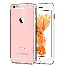 JETech Case for Apple iPhone 6s and iPhone 6 Bumper Cover Shock-Absorption Anti-Scratch Clear Back (HD Clear)