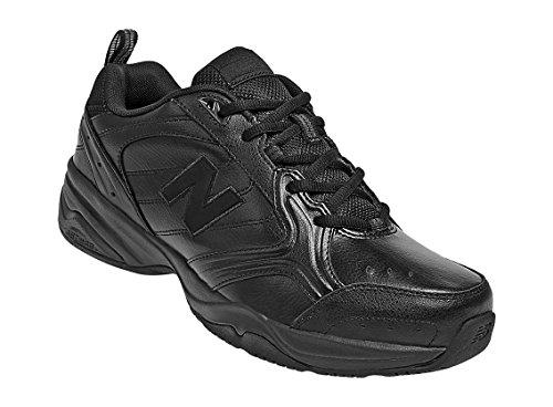New Balance Men's MX624v2 Casual Comfort Training Shoe, Black, 13 2E - Black Tip Leather Shoe