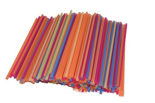 Cocktail and Coffee Straws Coffee and Drink Stirrers Plastic Drink Stirrers in Bright Colors Stirring and Sipping Straws, Cocktail Straws, Mini Straws 5 inch straw