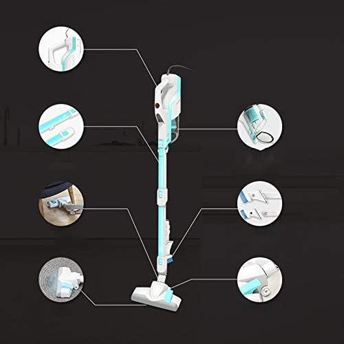2 en 1 portatif vertical Aspirateur à vide puissant Mini véhicules Cleaner Bleu LMMS