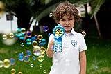 JOYIN 2 Bubble Guns with 2 Bottles Bubble Refill