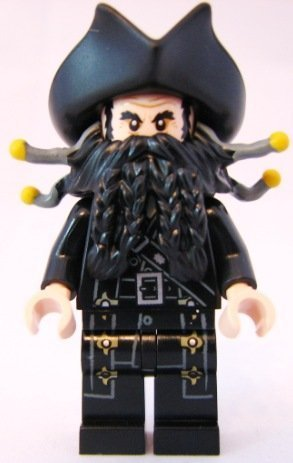 LEGO Pirates of the Caribbean: Blackbeard Minifigure by