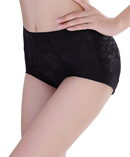 f5266c7df6121 NINGMI Women Butt Lifter Padded Control Panties Hip Enhancer Underwear  Shapewear