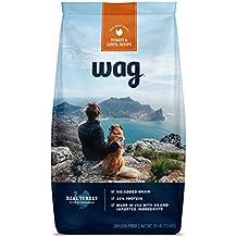 WAG Amazon Brand Dry Dog Food, No Added Grain, Turkey & Lentil Recipe, 30 lb. Bag