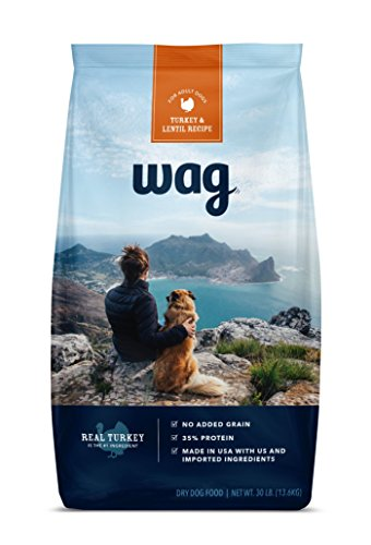 Wag Dry Dog Food Turkey & Lentil Recipe (30 Lb. Bag)